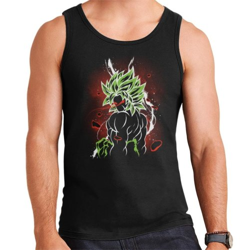 Dragon Ball Z Beserk Red Eyes Men's Vest