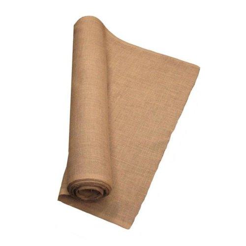 LA Linen 40IN-Burlap-60YardRoll 60 Yards Burlap Fabric, Natural - 40 in.