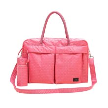 Pink Dot,Faddish WaterProof High Capacity Baby Bottle Tote Bag
