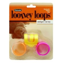 Petmate Fat Cat Looney Loops Cat Toy