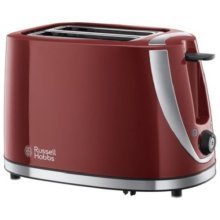 Russell Hobbs Mode 2 Slice Toaster Browning Control - Red (Model No. 21411)