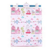 Creative Cartoon Pattern Waterproof Baby Crib Sheets 60*75cm, Castle