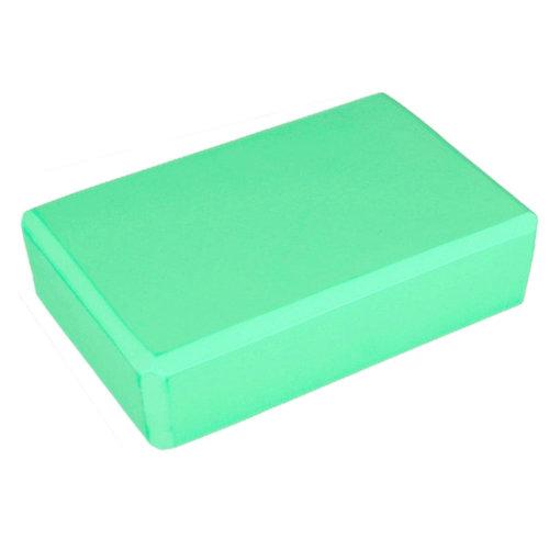 2PCS High-Density Yoga Block Foam Blocks Brick Yoga Mat Accessory, Light Green