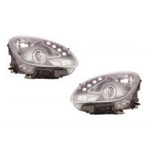 Alfa Romeo Giulietta 2010-2014 Headlights Headlamps Black Inner 1 Pair O/s & N/s