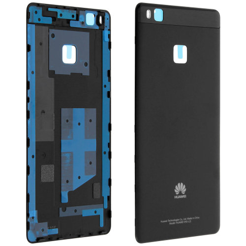 Housing part back cover, for Huawei P9 Lite – Black