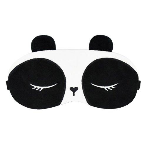 Sleep Panda Design Plush Eye Mask for Men & Women & Kids