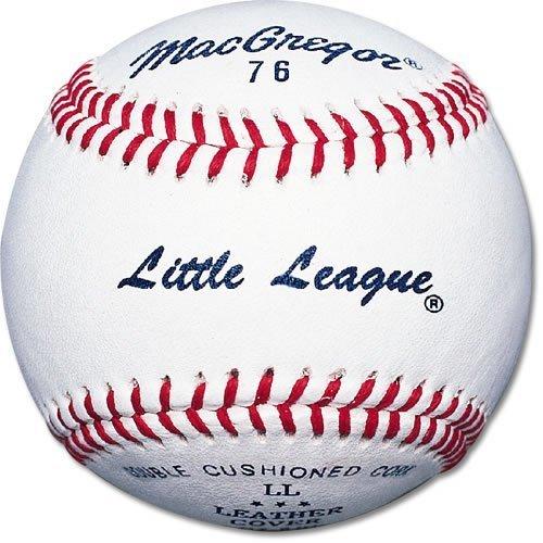 Macgregor 76C Little League Baseballs (One Dozen)