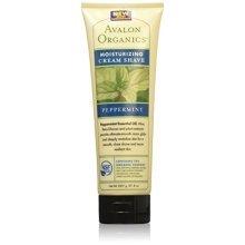 Avalon Organics Cream Shave, Revitalizing Peppermint, 8 Ounce