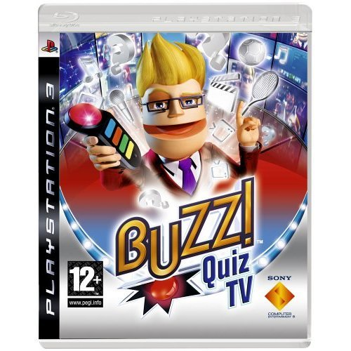 Buzz! Quiz TV (Playstation 3) (buzzers not included)