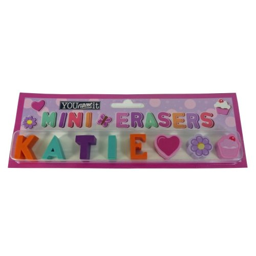 Childrens Mini Erasers - Katie