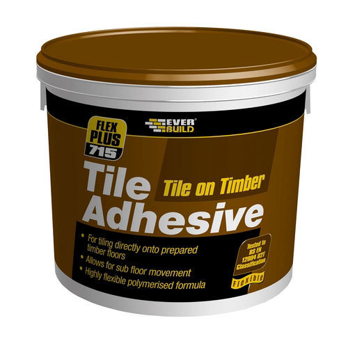 Everbuild 715 Tile On Timber Tile Adhesive 10 Litre