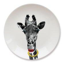 Wild Dining Party Animal Plate - Giraffe -