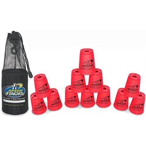 Play Along Speed Stacks Competition Cups Pink with Pink Bag