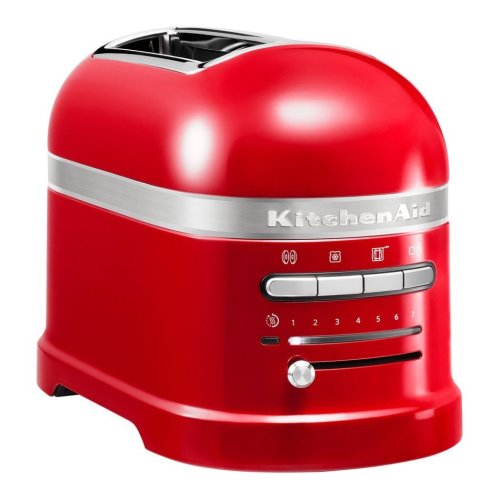 KitchenAid 5KMT2204BER Toaster Two Slice 1250W Variable Browning Bagel Red