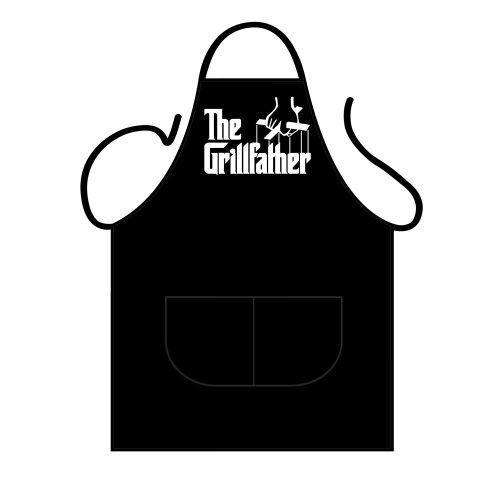 Kitchen BBQ Apron - The Grillfather