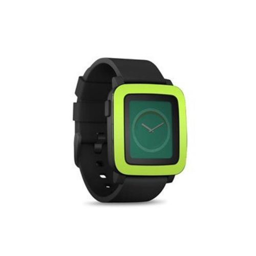 DecalGirl PSWT-SS-LIM Pebble Time Smart Watch Skin - Solid State Lime