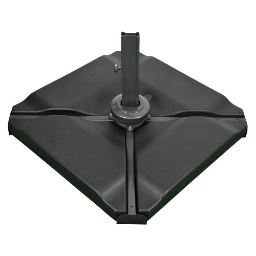 SORARA 4 Base Stand Weights For Garden Umbrella Parasol | Fillable Wih Sand  | Banana, Hanging And Cantilever | 80 KG | Heavy Weight For Crossbase...