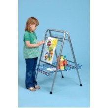 Childrens Floor Standing Height Adjustable Easel (A1235) - Nursery, Classroom
