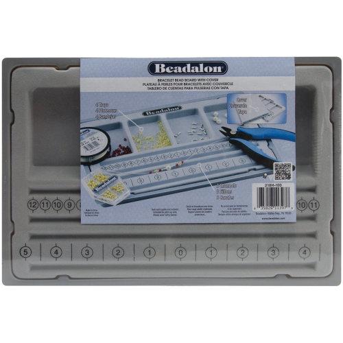 """Bracelet Bead Board W/Cover-7.75""""X11.25"""""""