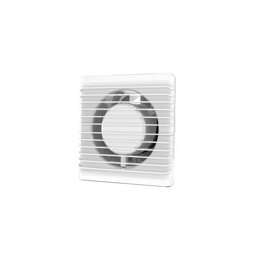 Low Energy Silent Bathroom Extractor Fan 100mm Timer Cord Switch