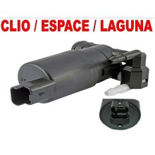 RENAULT CLIO ESPACE LAGUNA TWIN OUTLET WASHER PUMP