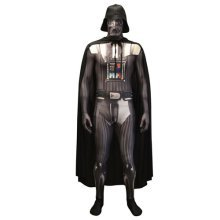 Star Wars Darth Vader Adult Unisex Zapper Cosplay Costume Digital Morphsuit - X Large - Multi-Colour (MLZDVX-XL)
