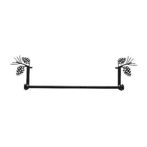 Village Wrought Iron Tb 89 S Small Pinecone Towel Bar