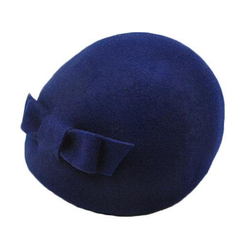 Ladies Lovely Beret Hat British Fashion style Hat, Navy