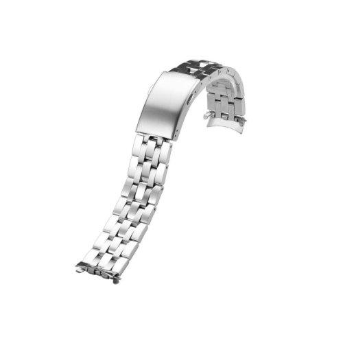 "19mm Stainless Steel Solid Link Metal Bracelet 7.28"" long for Tissot PRC 200"