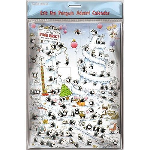 Medici Licensed Advent Calendar (MED0691) - Can You Find Eric - Eric the  Penguin and Friends