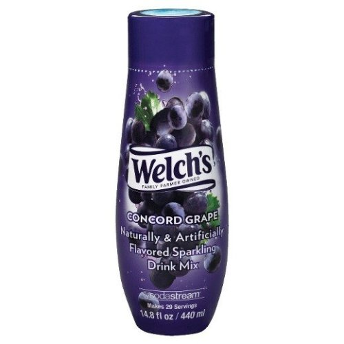 Sodastream Concentrate Syrup 440ml. Welch's Grape