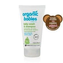 Green People Baby Wash & Shampoo Scent Free 150ml