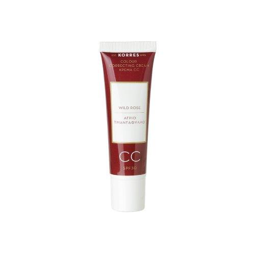 KORRES Wild Rose CC Cream SPF30, Light 30 ml