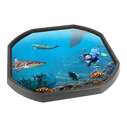 Tuff Spot Play Tray Mat Insert - Under Water World - Printed On Tough Vinyl  - Ideal For Schools, Nurseries and Home