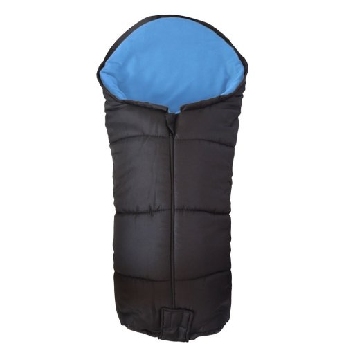Deluxe Footmuff / Cosy Toes Compatible with Quinny Zapp Pushchair Blue