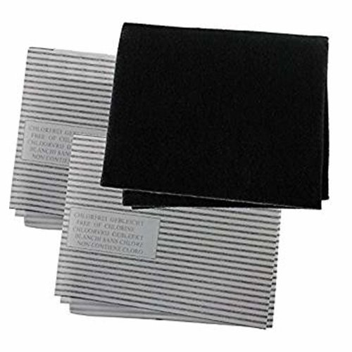 Spares2go Universal Cooker Hood Grease Odour Filter Kit For Kitchen Extractor Fan Vent 3 Pack On