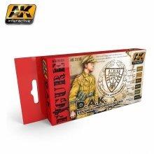 Ak03110 - Ak Interactive Set D.a.k. Soldier Uniform Colors