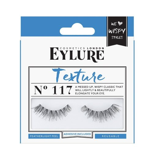 Eylure Texture No. 117 False Lashes | Lightweight False Eyelashes