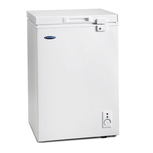 ICEKING WHITE 100L CHEST FREEZER
