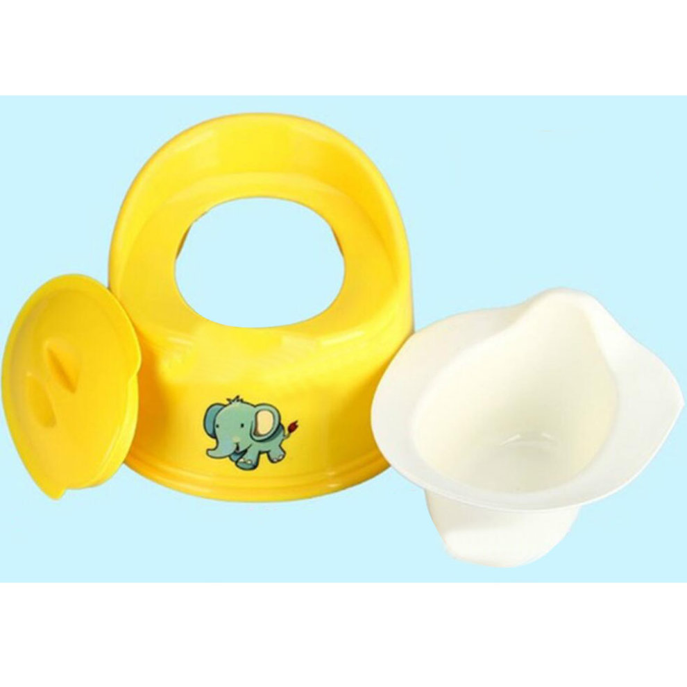... Baby Potty Chair Potty Training Boy Toilet Seats Bathroom Accessories Yellow - 1. u003e  sc 1 st  OnBuy & Baby Potty Chair Potty Training Boy Toilet Seats Bathroom ...