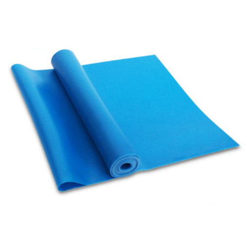 Natural Material Plastic Thin Yoga Belt Exercise Belt-Blue