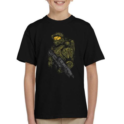 Halo Master Chief Kid's T-Shirt