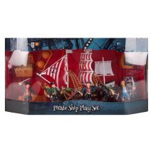 Children's Pirate Ship Light Up Playset Battery Operated