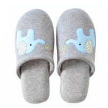 Family Winter Warm & Cozy  Indoor Shoes Couples Cartoon House Slipper, A
