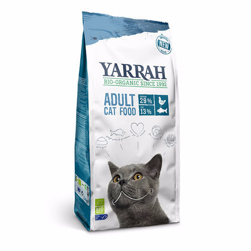 Yarrah  Adult Organic Cat Food - Msc Fish 2.4kg
