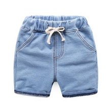 Baby Boy Short Pants Cute Short Pants for Summer Suitable for 130cm [G]