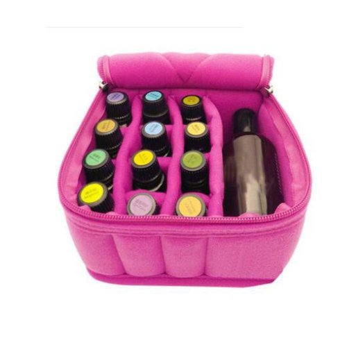 13 Slots For Travel and Home Essential Oil Carrying CasePortable Handle Bag