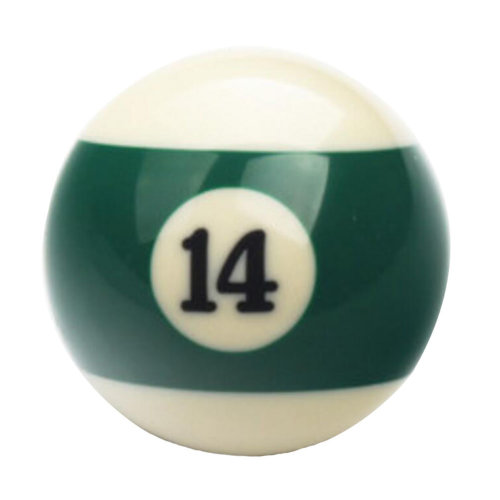 1 PCS Cue Sport Snooker USA Pool Billiard Balls 57.2 mm /2-1/4 - NO.14