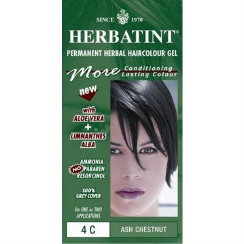 Herbatint Chestnut Ammonia Free Hair Colour 4n 150ml
