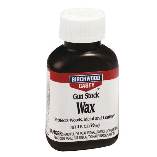 Birchwood Casey 3oz Gun stock Wax - professional rifle gun stock finishing